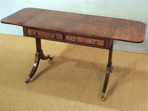 antique mahogany sofa table regency mahogany sofa table