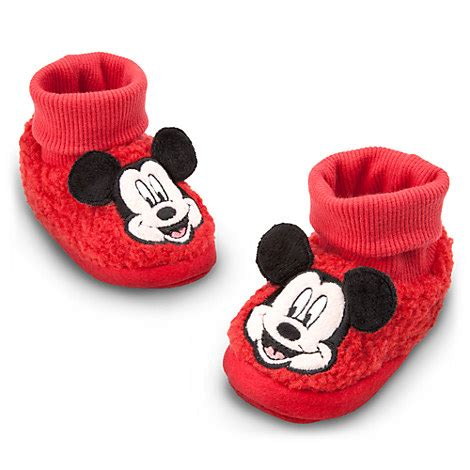 disney baby slippers mickey mouse plush slippers for baby disney baby