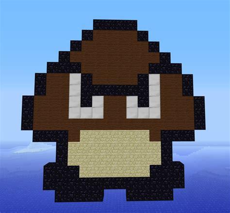 pixel character 1 mario by meowmixkitty on deviantart super mario goomba minecraft pinterest minecraft