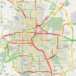 map of denver traffic conditions flickr photo