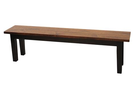 barn bench 68 quot solid top barn floor bench dutch craft furniture