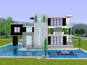 home design for the sims 3 free sims 3 lots modern house