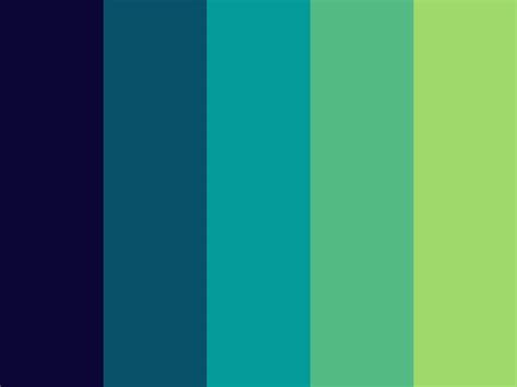 blue and green color schemes blue and green color schemes