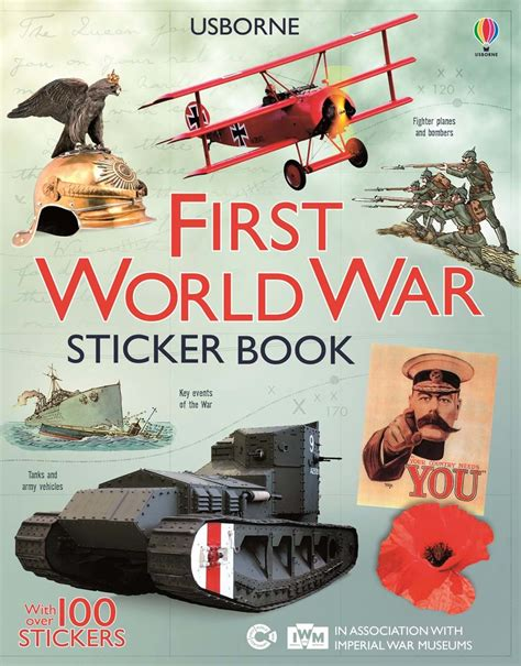 first world war sticker book at usborne books at home - 1409583899 First World War Sticker Book