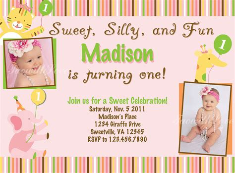 1st birthday invitation template how to choose the best one free printable birthday