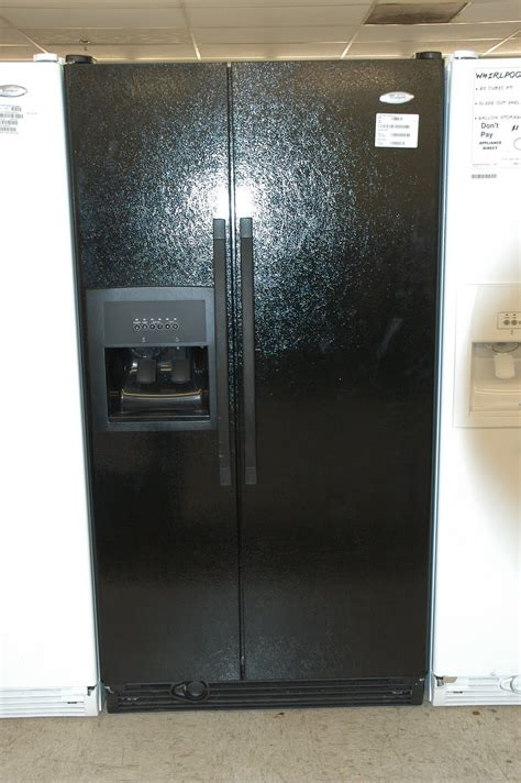 appliance direct whirlpool black side by side refrigerator orlando appliance stores