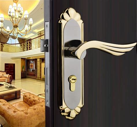Interior Door Handles For Homes 2014 New Stainless Steel Home Hotel Door Lock Handles For