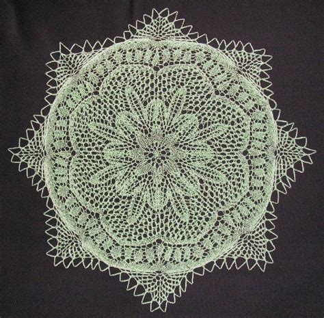 the cromulent knitter burda 198 16 weintrauben by the cromulent knitter knitting a german doily pattern