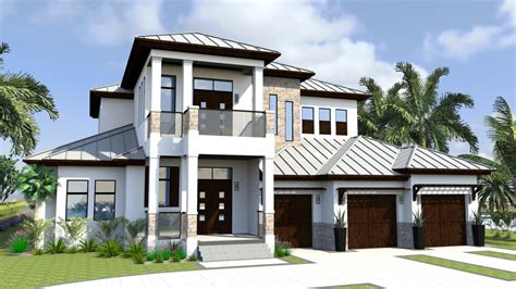 Residential House Plans Portfolio Lotus Architecture West Indies Style House Plans