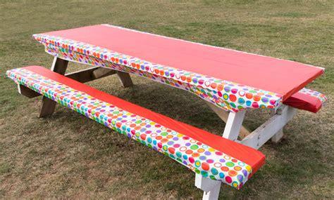 picnic table seat cushions diy picnic table cushions seats velcromag