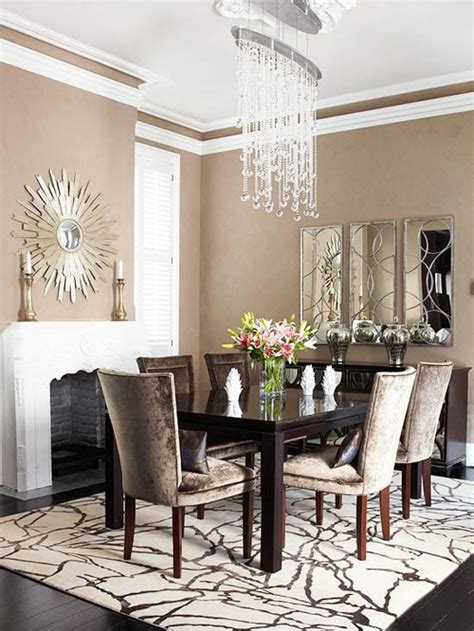 Mirror In Dining Room Interior Design by Dining Rooms With Fireplaces The Decorating Files
