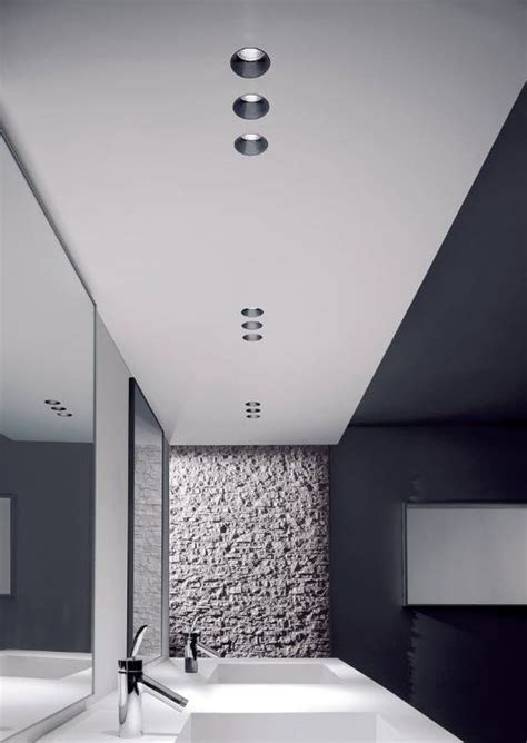 pendelleuchte für badezimmer idee decke modern