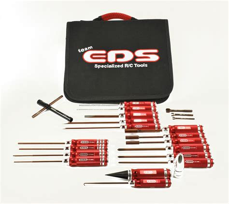 Tools Set By Rc team eds 290910 combo tool set for rc car w tool bag