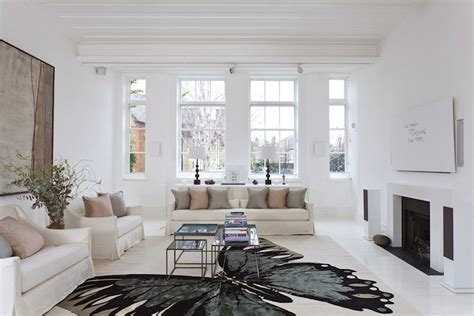 white home interior design