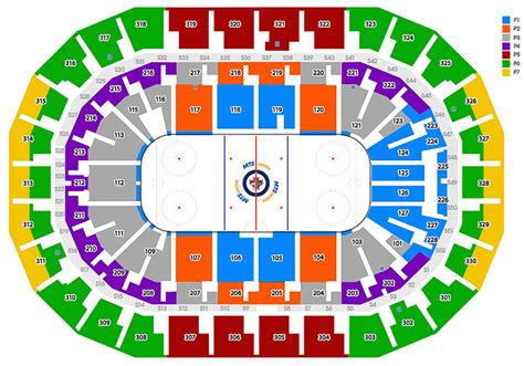 mts center seating capacity bell mts place winnipeg mb seating chart view