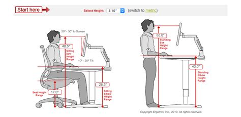 Desk Top Height by Proper Ergonomics For Stand Up Desk Hostgarcia