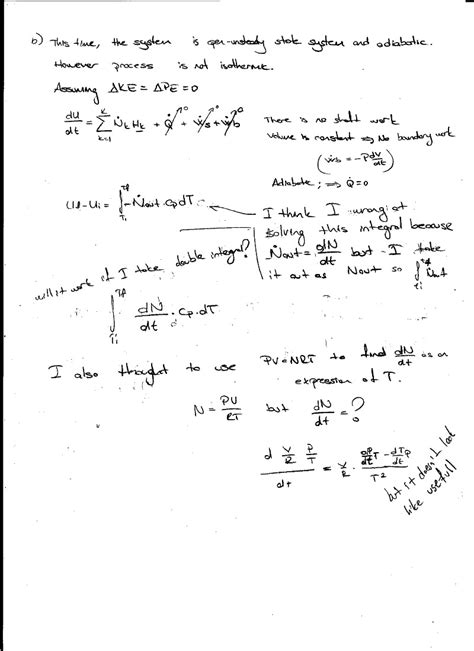 thermodynamics tutorial questions and answers thermodynamics assignment thermodynamics assignment