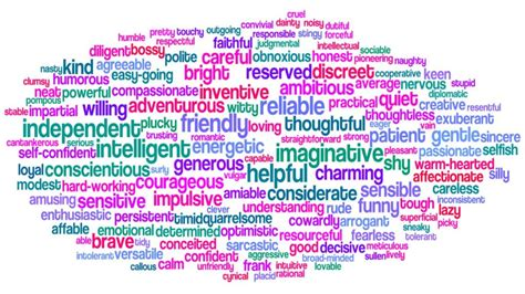 color personality traits how does your personality trait lead you certain career