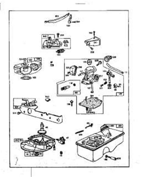 briggs and stratton 12 5 hp engine carburetor walbro model