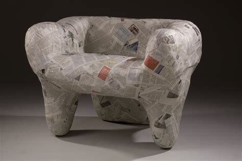 How 2 Make Paper Mache - furniture design by xiaoli dai at coroflot