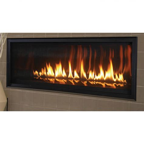 linear gas fireplaces ihp superior drl6500 direct vent linear louverless gas