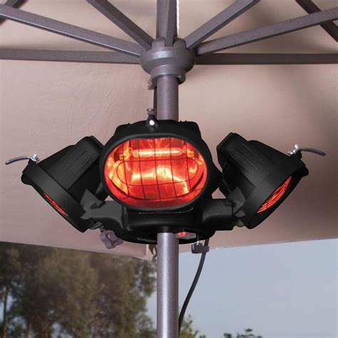 Heatmaster Popular 2000w Mounted Patio Heater Garden Street Parasol Patio Heater