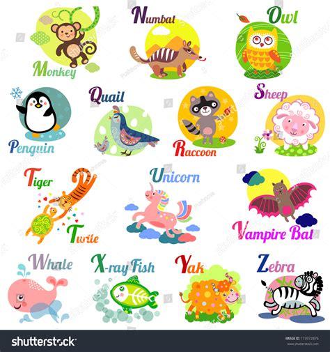animal alphabet u stock photo image 8440040 animal alphabet abc book vector stock vector