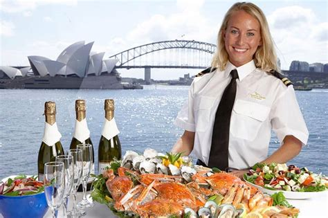 christmas in july lunch cruise circular quay sydney life
