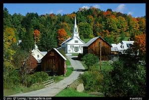 Villages In Usa by Picture Photo Waits River Village Vermont New England Usa
