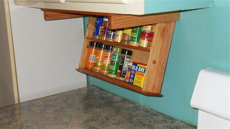 under cabinet kitchen storage simple kitchen design with under cabinet mounted spice