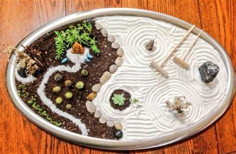 imagenes de jardines zen en miniatura c 243 mo hacer un jard 237 n zen en miniatura