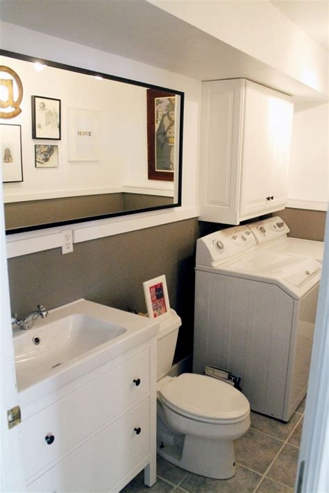 laundry room bathroom ideas integrated bathroom laundry