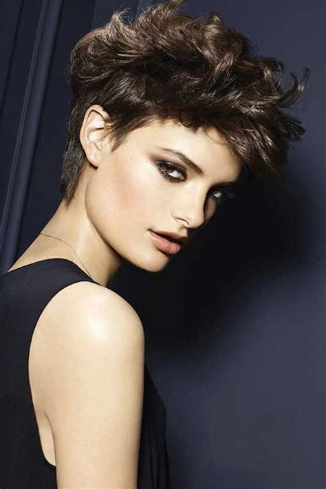 15 edgy curly hairstyles long hairstyles 2016 2017 15 best ideas of edgy short curly haircuts