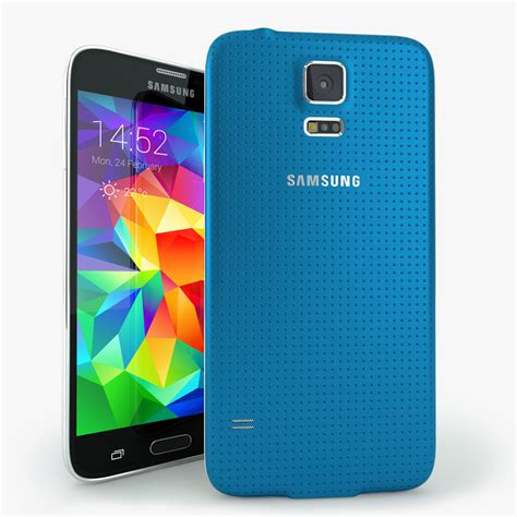 mobile phone s5 3d samsung galaxy s5 mobile phone model