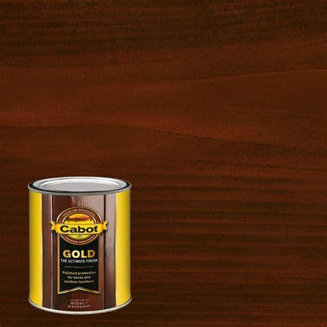 cabot  qt moonlit mahogany gold oil exterior deck