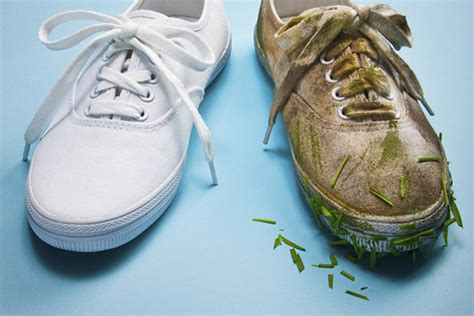 how to clean shoes stay at home