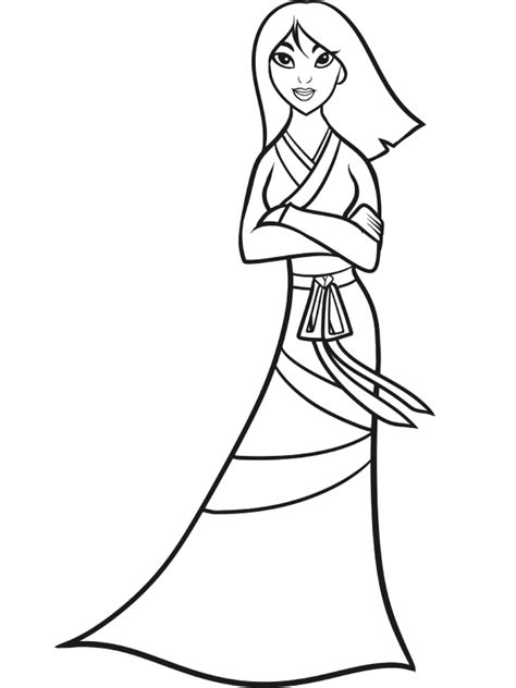mulan coloring pages coloring home