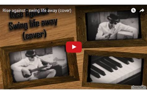 swing life away download my first cover song quot swing life away by rise against