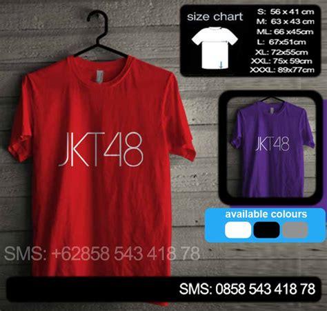 Kaos Jkt 48 Hitam Merah baju kaos jkt48 01 merah baju kaos distro murah