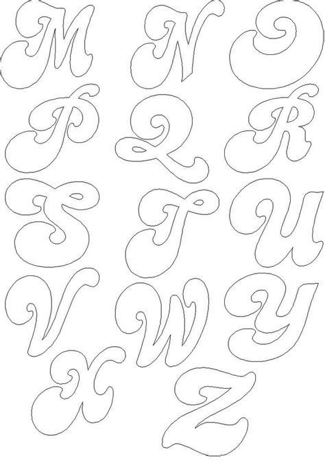 tipos de letras abecedario titulo 2jpg 25 melhores ideias de tipos de letras cursivas no
