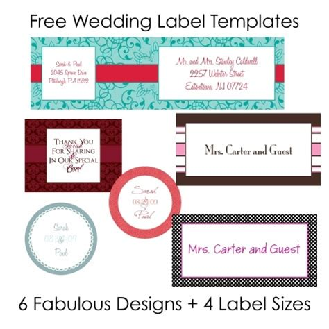 Printable Stickers Labels Wedding 9jasports Hallmark Address Label Templates