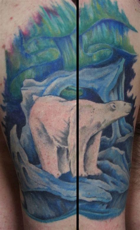 polar bear tattoos polar tattoos