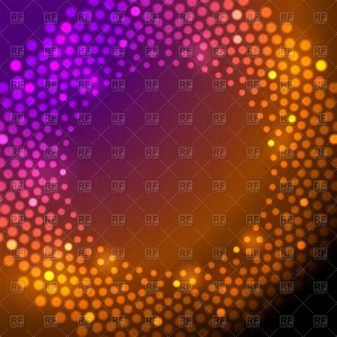 Sparkling Lights by Shiny Sparkling Lights Abstract Background Vector Clipart