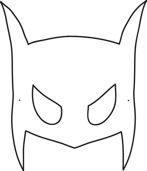 mask template for printable batman mask template printable