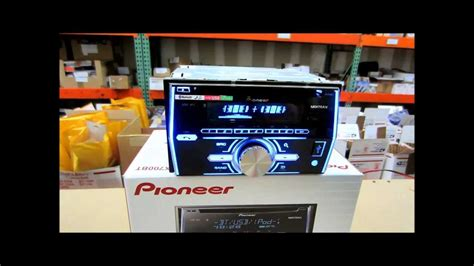 pioneer fh xbt review       youtube