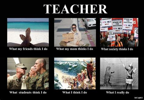 what people think a teachers summer is like vs what its random thoughts being a teacher