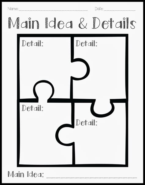 idea organizer best 25 teaching main idea ideas on pinterest ela