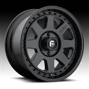 Truck Rims Flat Black Fuel Summit D544 Matte Black Truck Wheels Rims