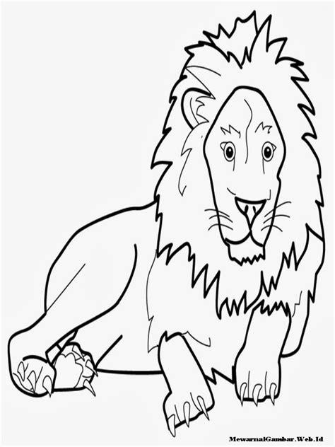 Mewarnai Gambar Singa | Mewarnai Gambar