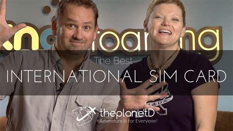 best international sim card the best international sim card knowroaming youtube